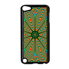 Vibrant Seamless Pattern  Colorful Apple iPod Touch 5 Case (Black)