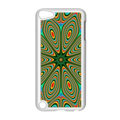 Vibrant Seamless Pattern  Colorful Apple iPod Touch 5 Case (White)