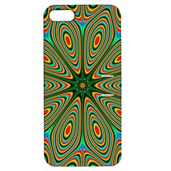 Vibrant Seamless Pattern  Colorful Apple iPhone 5 Hardshell Case with Stand
