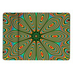 Vibrant Seamless Pattern  Colorful Samsung Galaxy Tab 10.1  P7500 Flip Case
