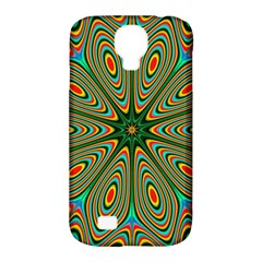 Vibrant Seamless Pattern  Colorful Samsung Galaxy S4 Classic Hardshell Case (PC+Silicone)