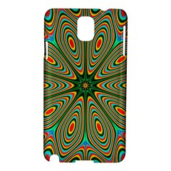 Vibrant Seamless Pattern  Colorful Samsung Galaxy Note 3 N9005 Hardshell Case