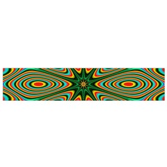 Vibrant Seamless Pattern  Colorful Flano Scarf (Small)