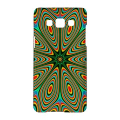 Vibrant Seamless Pattern  Colorful Samsung Galaxy A5 Hardshell Case