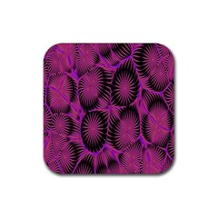 Self Similarity And Fractals Rubber Coaster (Square)
