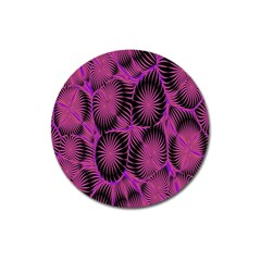 Self Similarity And Fractals Magnet 3  (Round)
