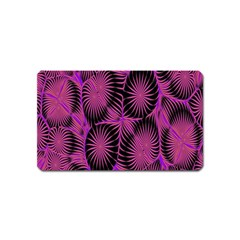 Self Similarity And Fractals Magnet (Name Card)