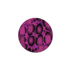 Self Similarity And Fractals Golf Ball Marker (4 pack)
