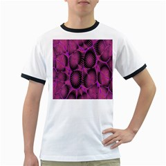 Self Similarity And Fractals Ringer T-Shirts