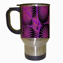 Self Similarity And Fractals Travel Mugs (White)