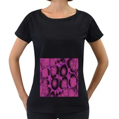 Self Similarity And Fractals Women s Loose Fit T Shirt (black)