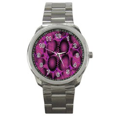 Self Similarity And Fractals Sport Metal Watch