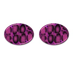 Self Similarity And Fractals Cufflinks (Oval)