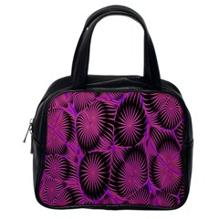 Self Similarity And Fractals Classic Handbags (one Side)