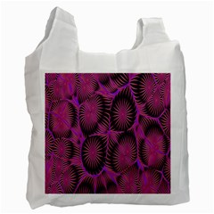 Self Similarity And Fractals Recycle Bag (one Side)