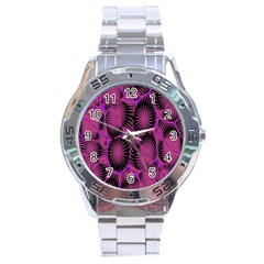 Self Similarity And Fractals Stainless Steel Analogue Watch