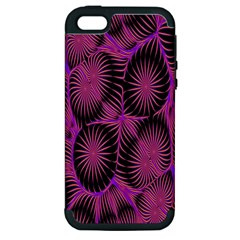 Self Similarity And Fractals Apple iPhone 5 Hardshell Case (PC+Silicone)