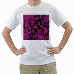 Self Similarity And Fractals Men s T-Shirt (White)