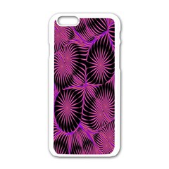 Self Similarity And Fractals Apple Iphone 6/6s White Enamel Case