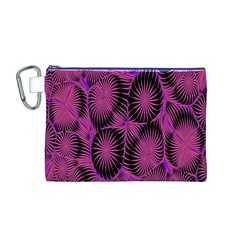 Self Similarity And Fractals Canvas Cosmetic Bag (M)