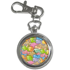 Fishes Cartoon Key Chain Watches