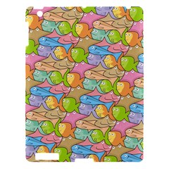 Fishes Cartoon Apple iPad 3/4 Hardshell Case