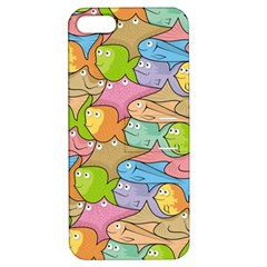 Fishes Cartoon Apple iPhone 5 Hardshell Case with Stand