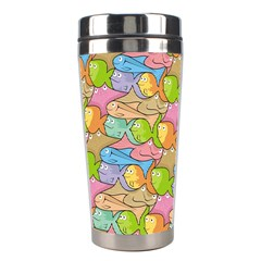 Fishes Cartoon Stainless Steel Travel Tumblers