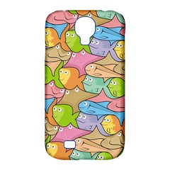 Fishes Cartoon Samsung Galaxy S4 Classic Hardshell Case (PC+Silicone)