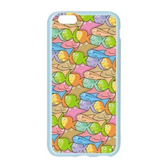 Fishes Cartoon Apple Seamless iPhone 6/6S Case (Color)