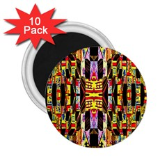 Brick House Mrtacpans 2 25  Magnets (10 Pack)