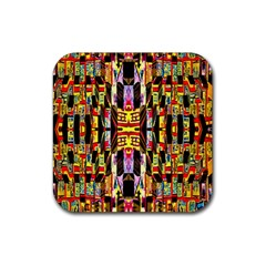 Brick House Mrtacpans Rubber Square Coaster (4 Pack)