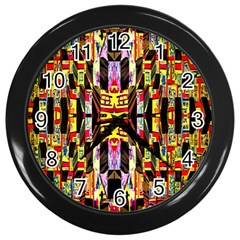 Brick House Mrtacpans Wall Clocks (black)