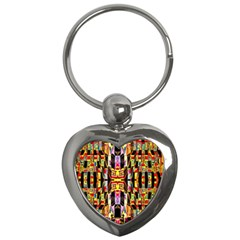Brick House Mrtacpans Key Chains (heart)