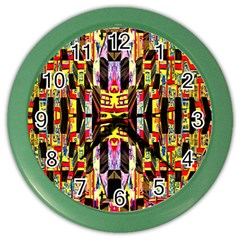 Brick House Mrtacpans Color Wall Clocks