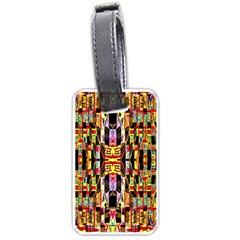 Brick House Mrtacpans Luggage Tags (two Sides)
