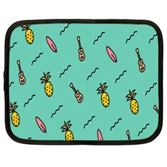 Guitar Pineapple Netbook Case (XXL)