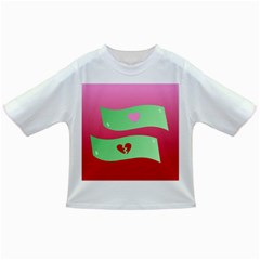 Money Green Pink Red Broken Heart Dollar Sign Infant/toddler T Shirts
