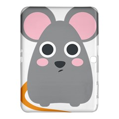 Mouse Grey Face Samsung Galaxy Tab 4 (10.1 ) Hardshell Case