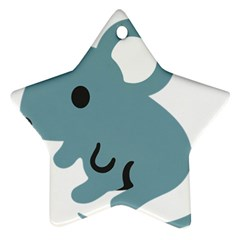 Mouse Ornament (star)