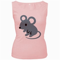 Mouse Women s Pink Tank Top