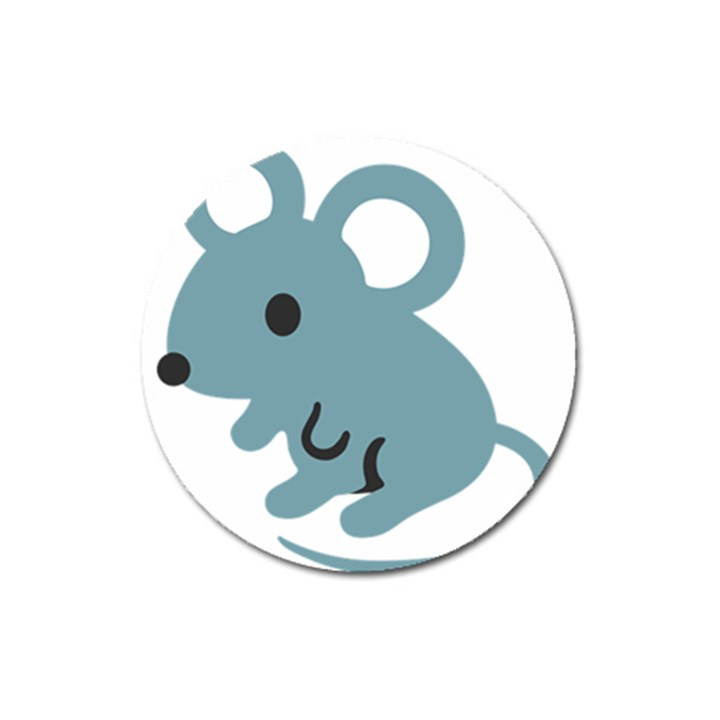 Mouse Magnet 3  (Round)