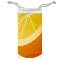 Orange Lime Yellow Fruit Fress Jewelry Bag