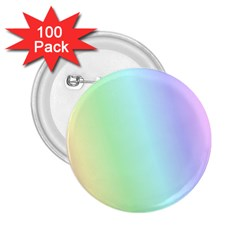Multi Color Pastel Background 2 25  Buttons (100 Pack)