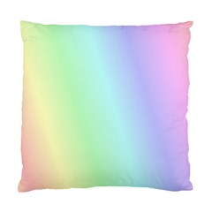 Multi Color Pastel Background Standard Cushion Case (two Sides)