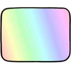 Multi Color Pastel Background Double Sided Fleece Blanket (Mini)