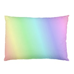 Multi Color Pastel Background Pillow Case (Two Sides)