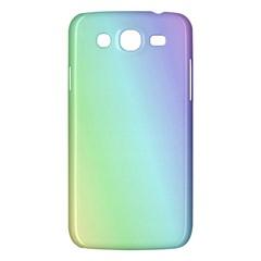 Multi Color Pastel Background Samsung Galaxy Mega 5.8 I9152 Hardshell Case