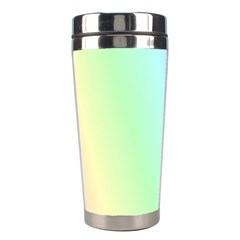 Multi Color Pastel Background Stainless Steel Travel Tumblers