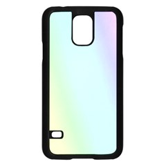 Multi Color Pastel Background Samsung Galaxy S5 Case (Black)